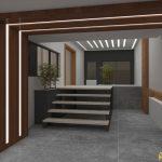 طراحی سقف لابی
